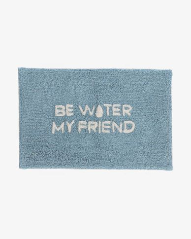 Alfombra de baño Nandi 40 x 60 cm be water my friend