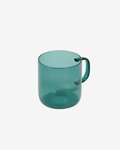 Morely turquoise mug