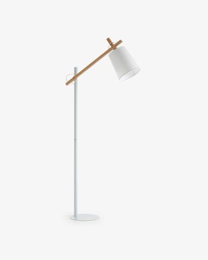 Kosta floor lamp, white