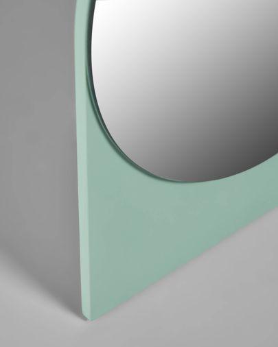 Miroir Mica 17 x 20 cm vert