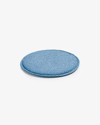 Silke cushion dark blue