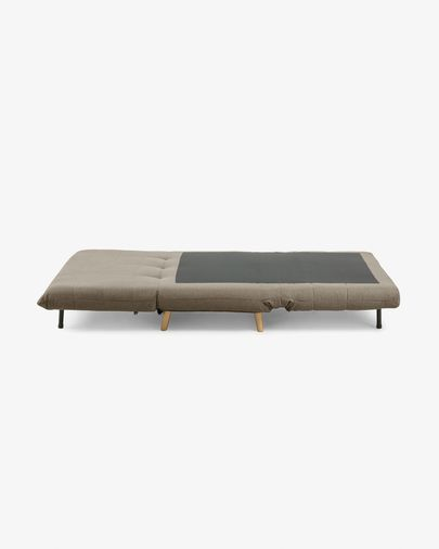 Susan sofa bed in brown 105 cm