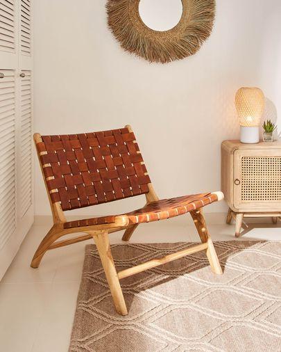 Tappeto Sybil 160 x 230 cm marrone