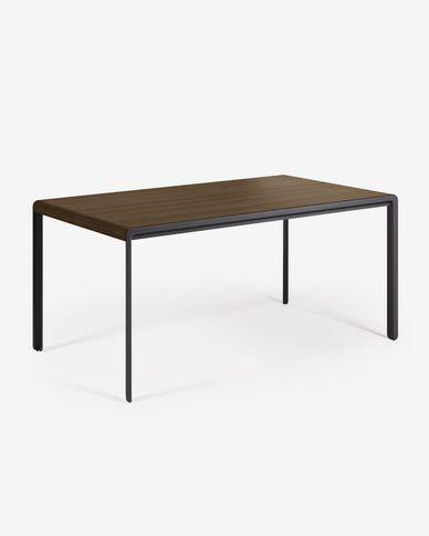 Tavolo allungabile Nadyria 160 (200) x 90 cm finitura noce