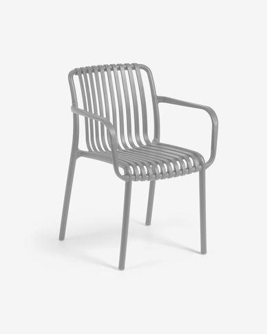 Isabellini garden chair in grey