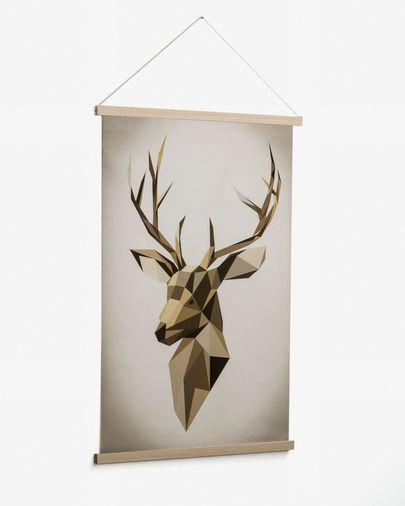 Quadro Nomand 60 x 90 cm cervo