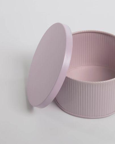 Caja pequeña Quelia rosa