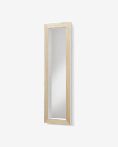 Espejo Enzo blanco 28 x 98 cm