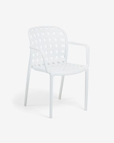 White Isa chair