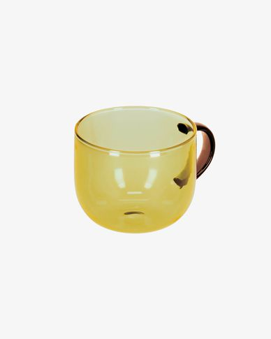 Alahi yellow coffee cup