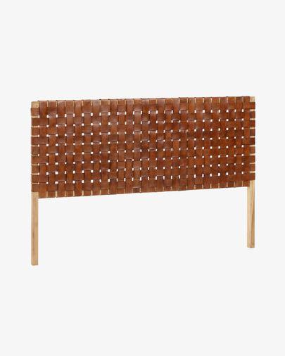 Cabecero Calixta de madera maciza de teca 153 x 110 cm