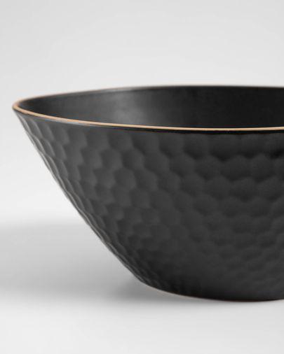 Bol Manami grande en céramique noir