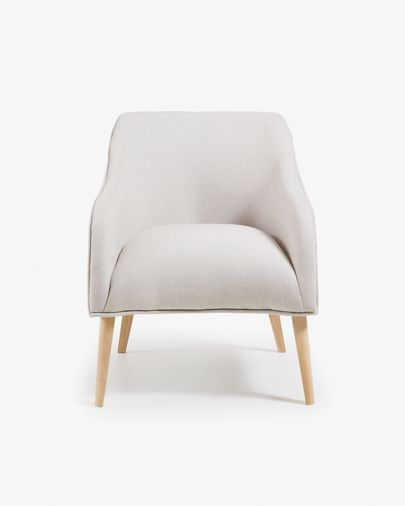 Bobly fauteuil beige