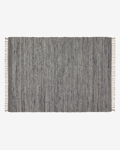 Paolina grijs kleed 160 x 230 cm