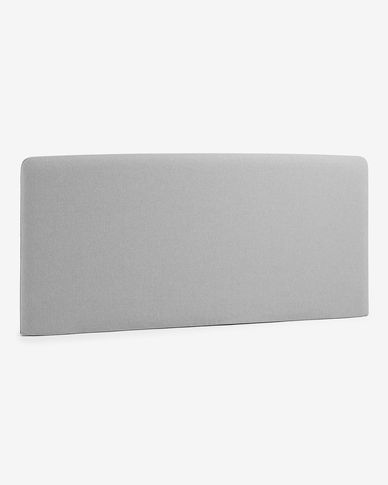Grey Dyla headboard cover 178 x 76 cm