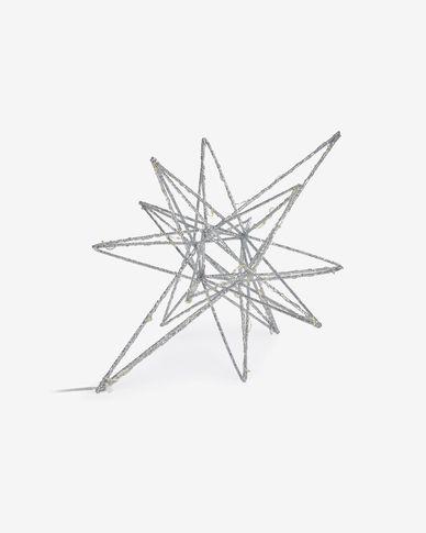 Lichtgevende ster Nicoletta groot grijs