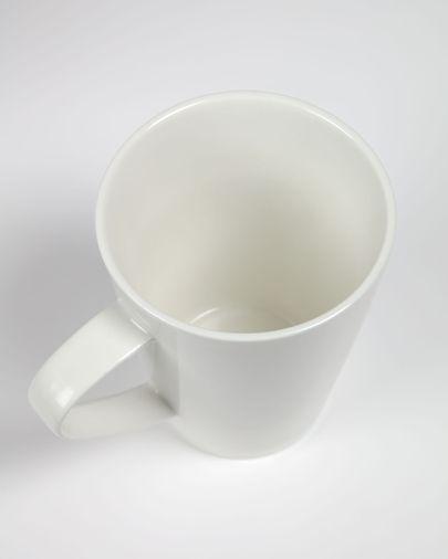 Tasse Pierina porcelaine blanc