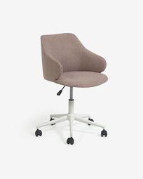 Einara pink office chair