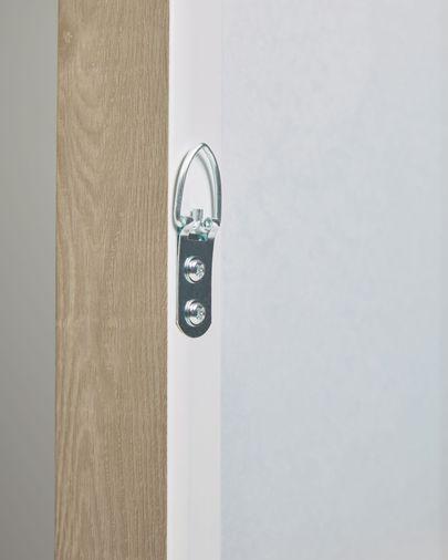 Cuadro Malvern blanco y verde 50 x 70 cm