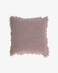 Shallow pink cushion cover 45 x 45 cm