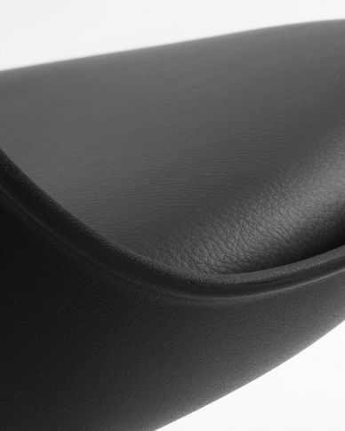 Orlando-T barstool black height 60-82 cm