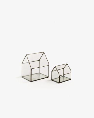 Olso set of 2 terrariums