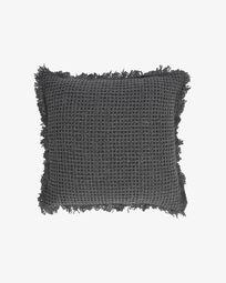 Funda de coixí Shallow gris 45 x 45 cm