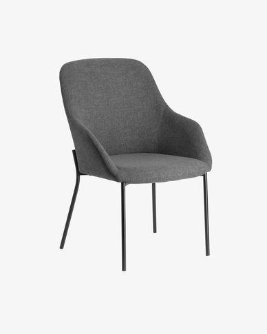 Futura fauteuil donkergrijs