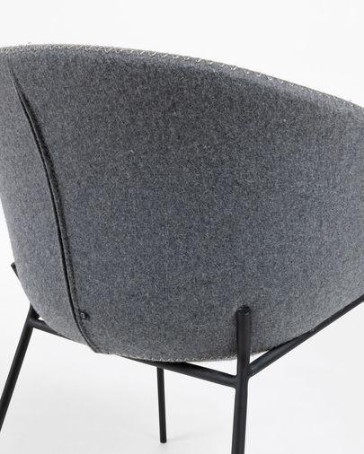 Cadira Yvette gris