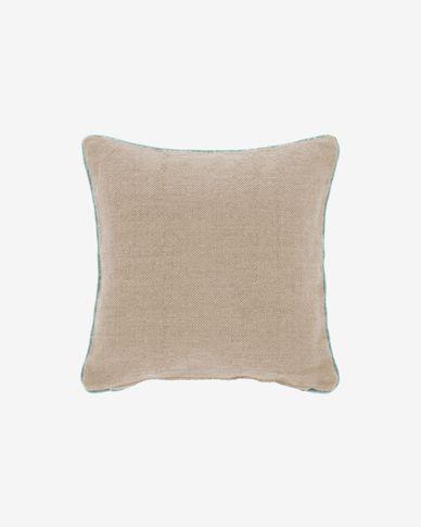 Dalila beiger PET Kissenbezug 45 x 45 cm
