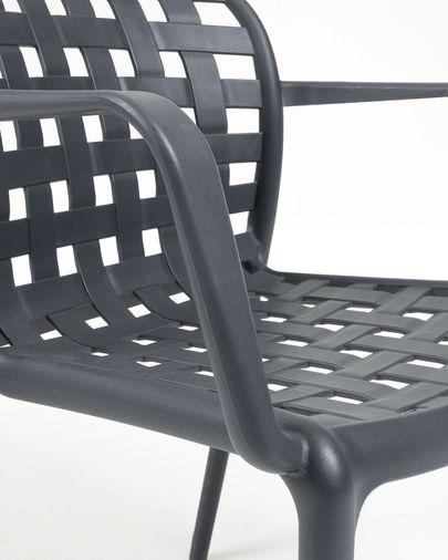 Cadira Isa gris fosc