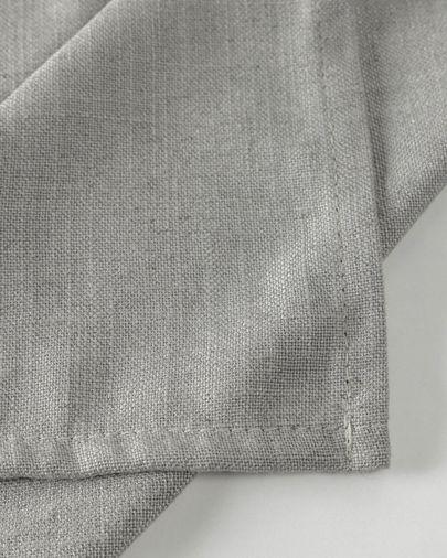 Set Samay di 4 tovagliette in grigio