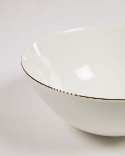Miska Taisia porcelanowa duża biała