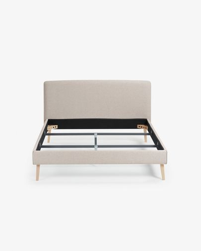Dyla bed 160 x 200 cm beige
