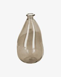 Brenna medium brown vase