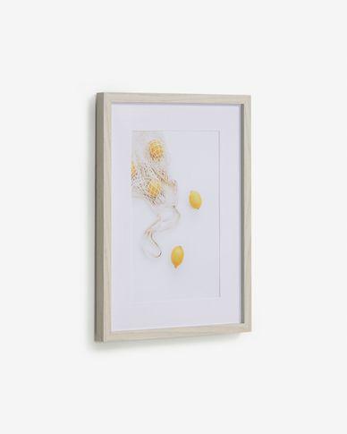 Quadro Leyla con limoni 30 x 40 cm