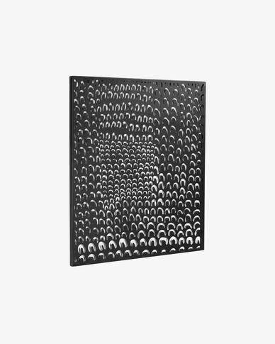 Tableau métallique Cyna 64 x 70 cm