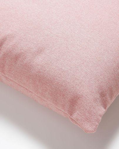 Kam kussensloop 45 x 45 cm roze
