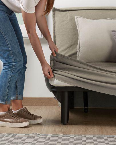 Lyanna sofa bed 140 cm beige
