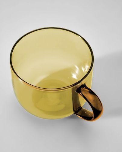 Tasse à café Alahi jaune