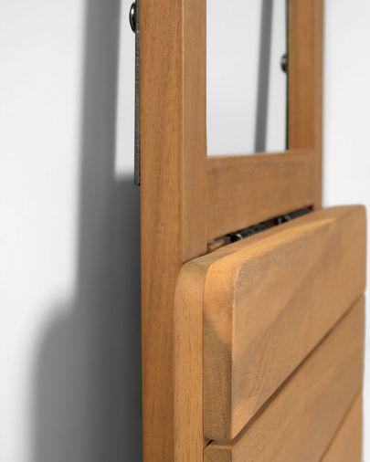 Składany stół balkonowy Amarilis lite drewno akacjowe 40 x 42 cm FSC 100%