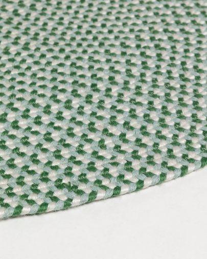 Rodhe green Ø 100 cm rug