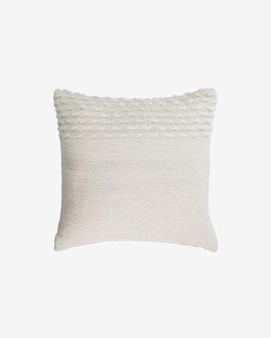Beva white cushion cover 45 x 45 cm