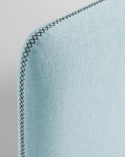 Lichtblauw Dyla matrashoes 90 x 190 cm