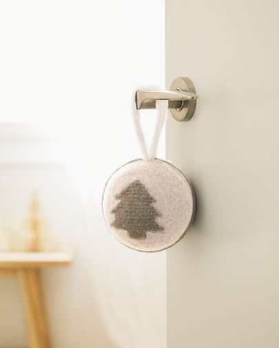 Set Cath de 4 pendentes decorativos de árvore de Natal