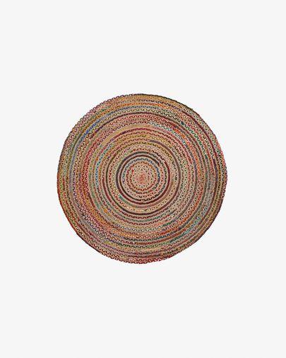 Tappeto Saht Ø 100 cm multicolore