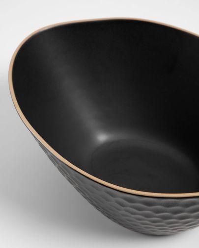 Bol Manami gran de ceràmica negre
