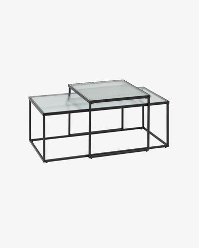 Set Akemi di 2 tavolino