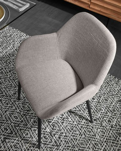 Cadeira Konna cinza clara