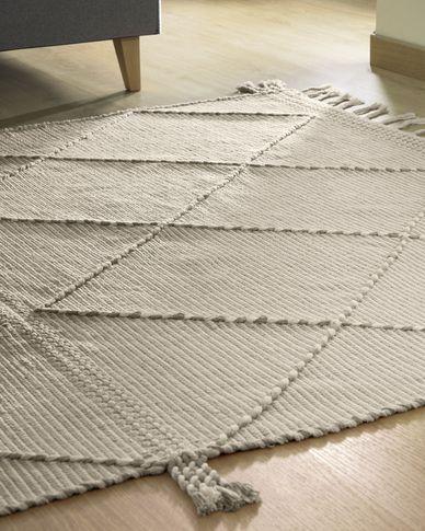 Tappeto Nurit 160 x 230 cm beige